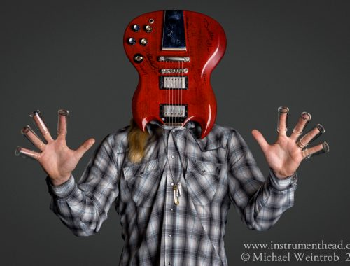 Derek Trucks by Michael Weintrob Instrumenthead