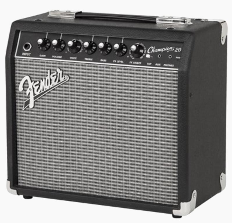 Fender Champion 20 Electric Guitar Amplifier Review