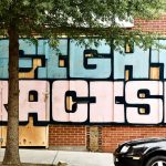 fight racism graffiti
