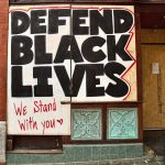 Defend Black Lives graffiti